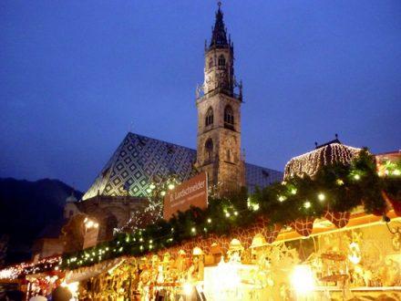 Bolzano durante i mercatini