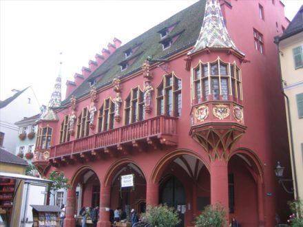 Friburgo: scorcio cittadino