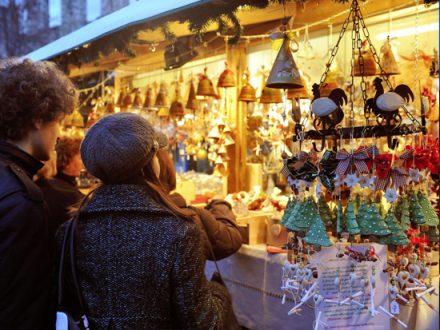 Atmosfera di Trento durante il Natale