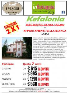 KEFALONIA OFFERTISSIMA 2X1