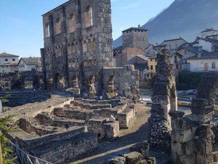 Il tour di Penta Annalisa - Aosta