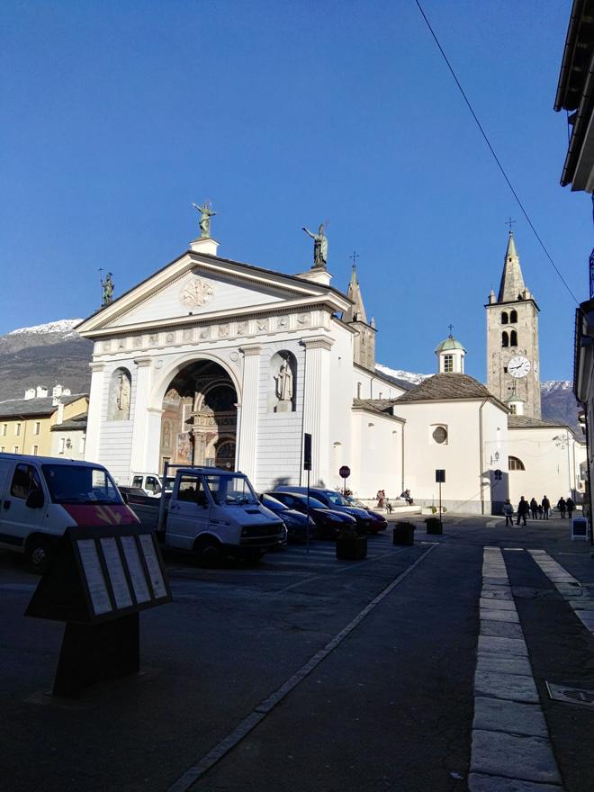 Il tour di Solisca Casini - Aosta