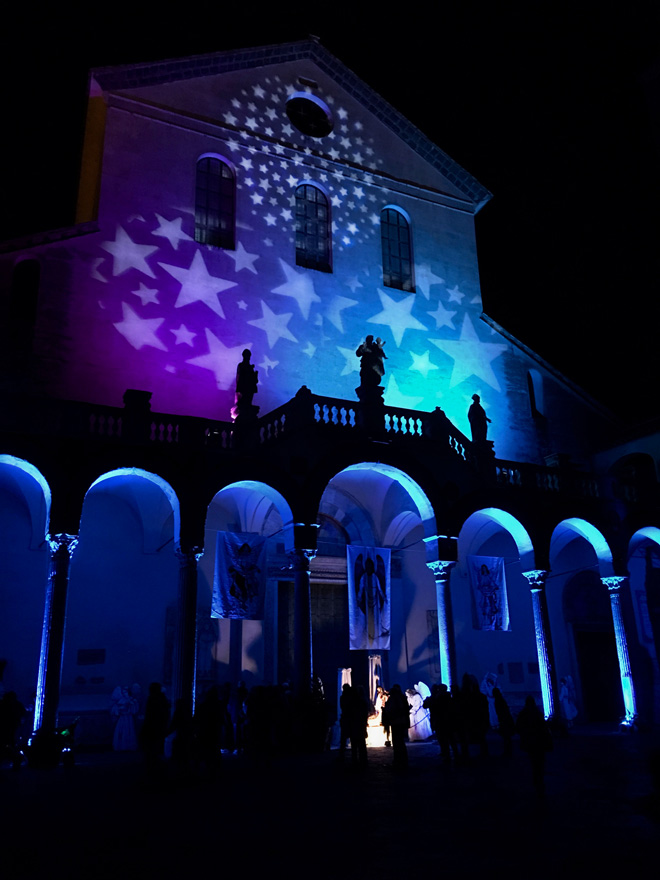 Il tour di Luana Brocchini - Napoli e Salerno