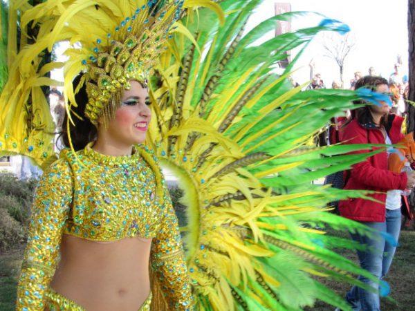 Il tour di Federica Barghigiani: Mandelieu Festa della mimosa