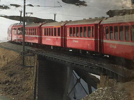 Lara Lancioni - Valtellina e il treno del Bernina