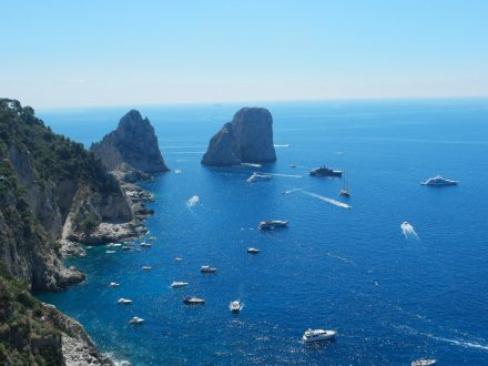 Capri Faraglioni - Cinzia Freccia